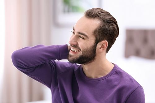زراعة شعر بدون حلاقة